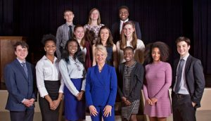 Poetry Out Loud National Finals in Washington Group Picture